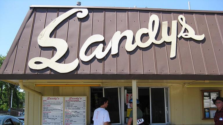 Sandy's Hamburgers, Austin