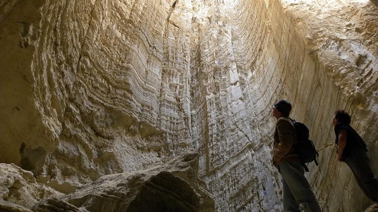 Sodom Salt Cave