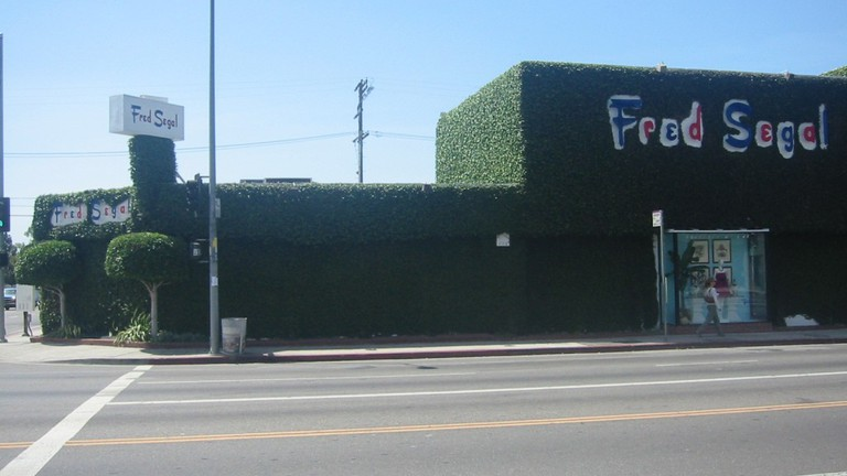 Fred Segal on Melrose