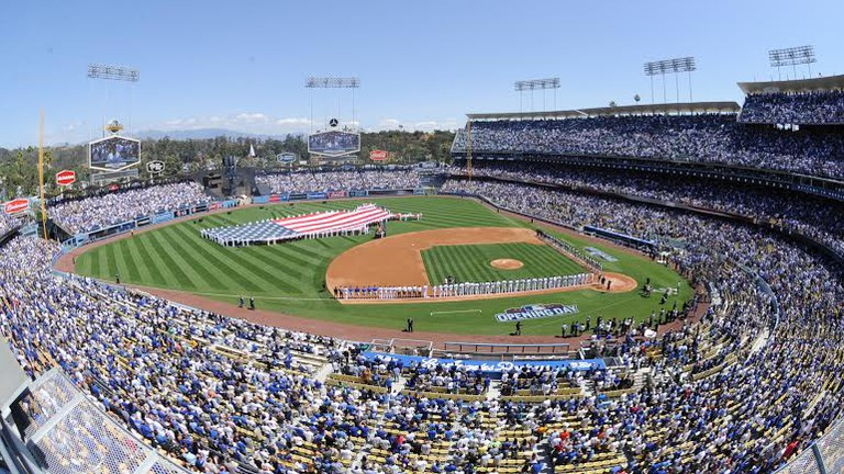 Opening Day at Dodger Stadium 2015