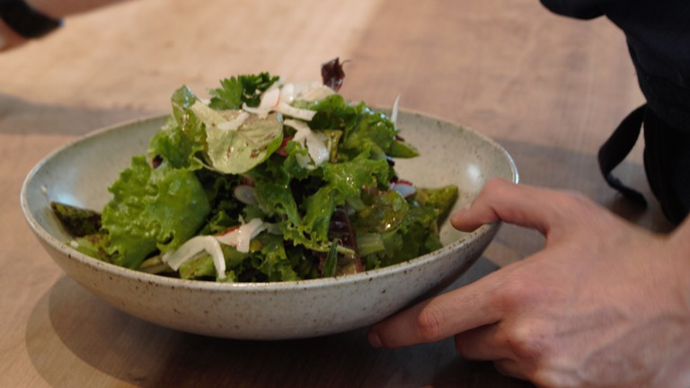 One of Perry Hoffman's Salads