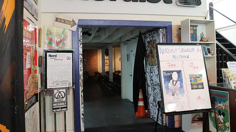 The Nerdist Showroom at Meltdown Comics