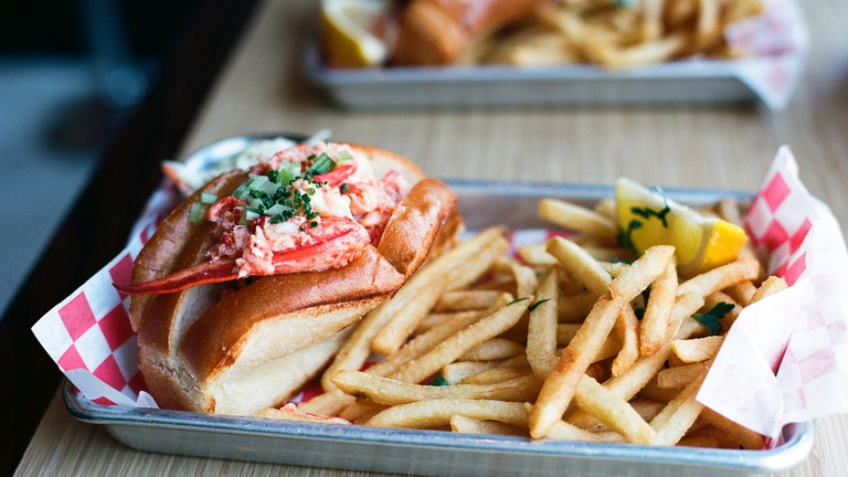 Lobster Role from Woodhouse Fish Co.