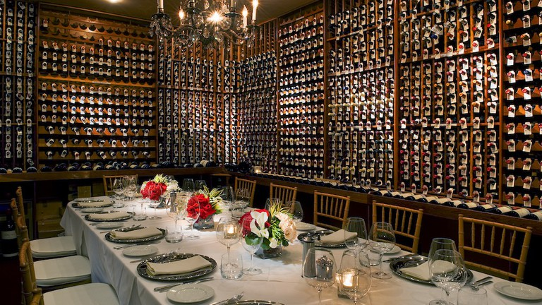 Wine Cellar at Valentino