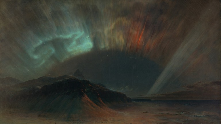 Frederic Edwin Church, Aurora Borealis, 1865.
