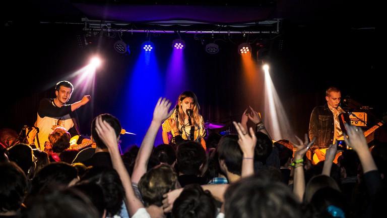 Wolf Alice play at Nambucca, Holloway