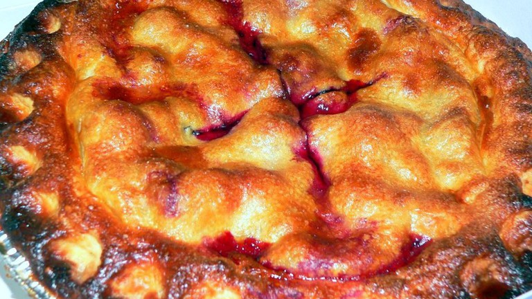 Triple Berry Pie at Sugar Mama's Bakeshop