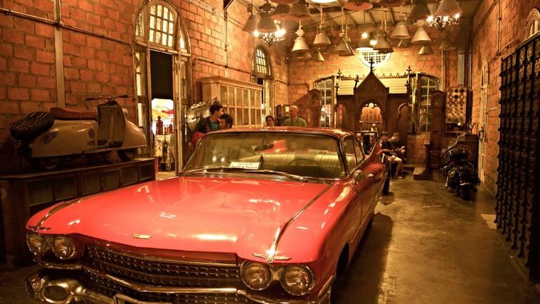 Antique Car at Rod Fai Train Market