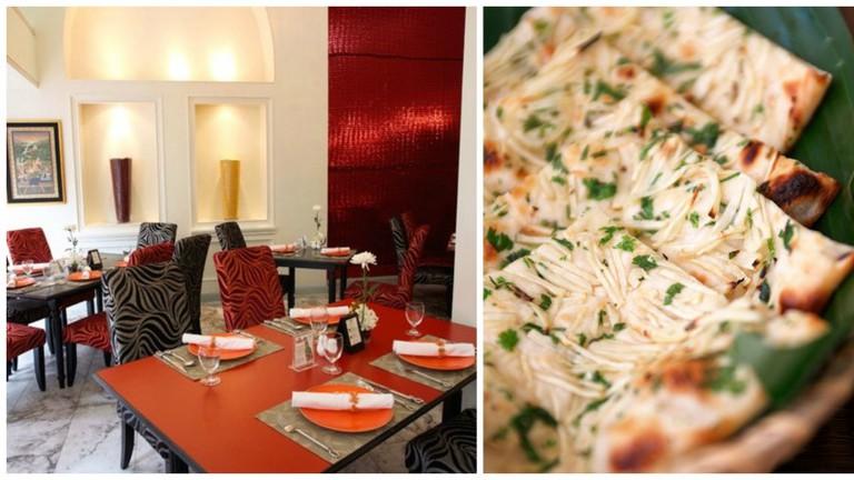 Garlic Naan at Mrs. Balbir's Indian Cuisine