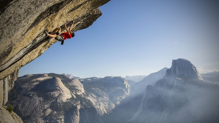 Alex Honnold, Rock Climbing Yosemite