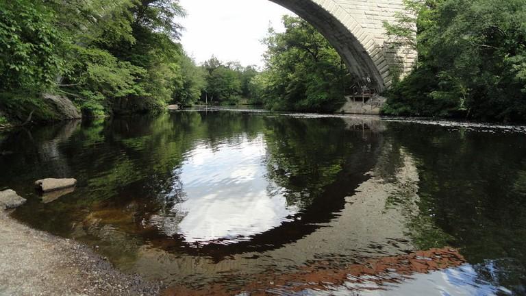 Echo Bridge in Newton