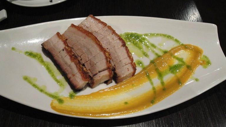 Crispy Cantonese Pork Belly