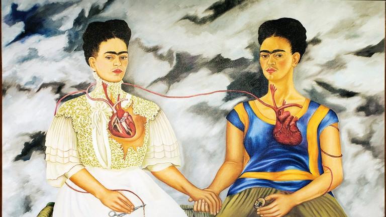 Frida Kahlo, 'The Two Fridas' (1939)