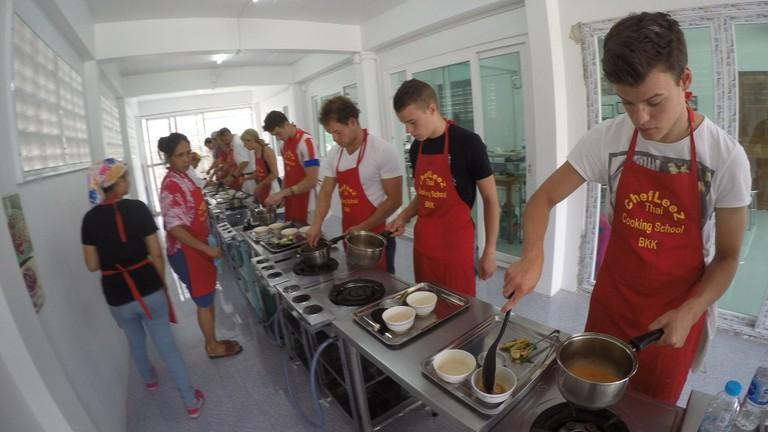 Chef Leez Thai Cooking Class