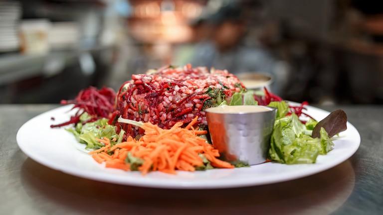 Vegan salad © John Gillespie