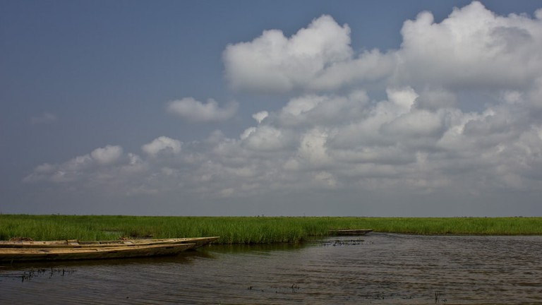 Clouds Over Keta Lagoon