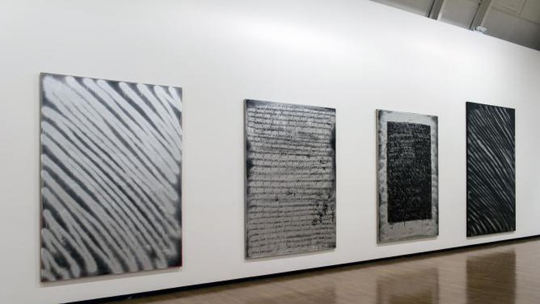 Ziggy Grudzinskas, Installation view, Royal Academy Schools, Premiums Interim Projects, 2014