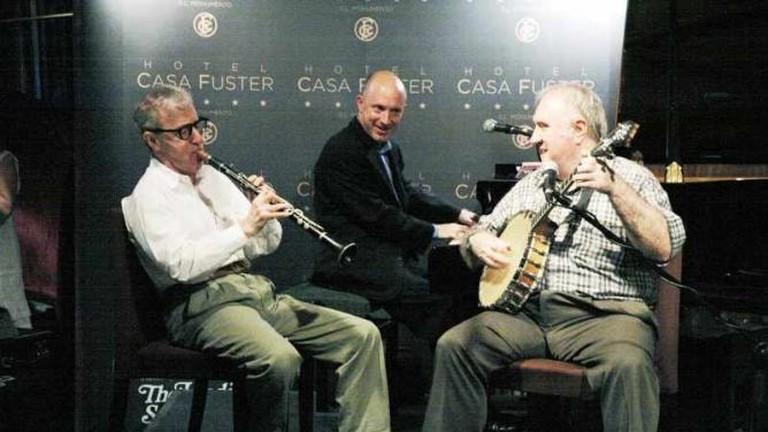 Woody Allen at Casa Fuster Courtesy of Casa Fuster