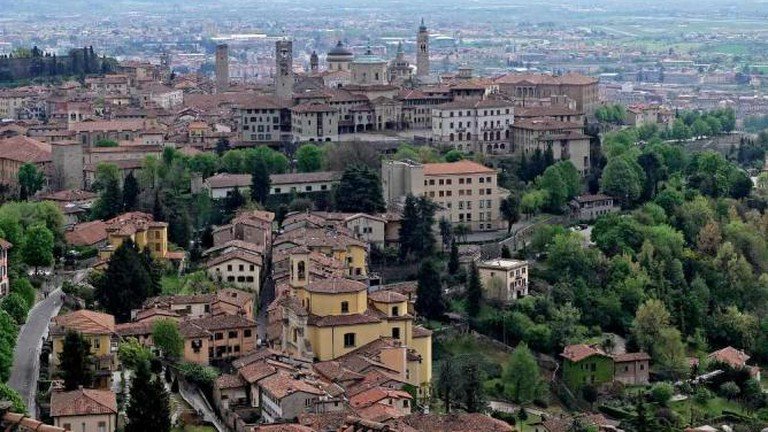 View from La Rocca di San Vigilio