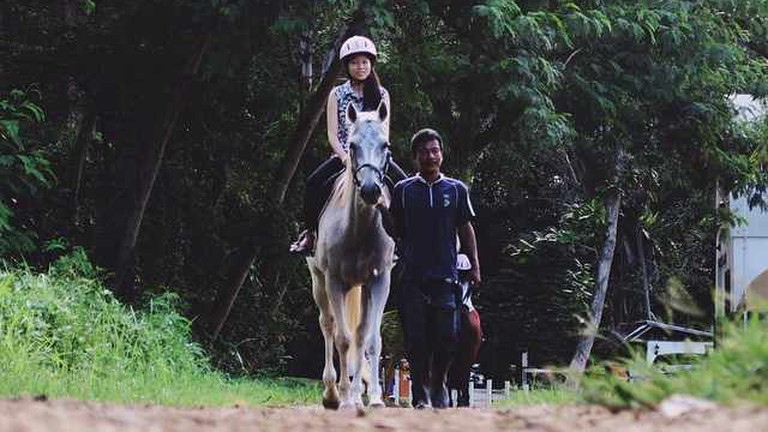 Riding at Gallop Stables