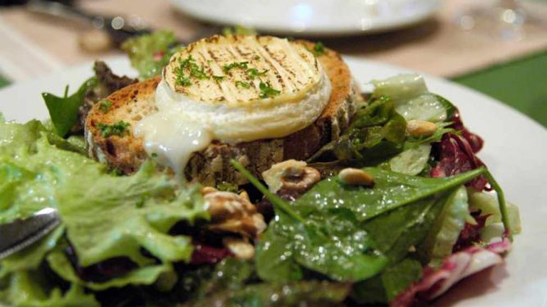 Cabecon de Rocamadour et Salade, Comme á la Maison, Akasaka