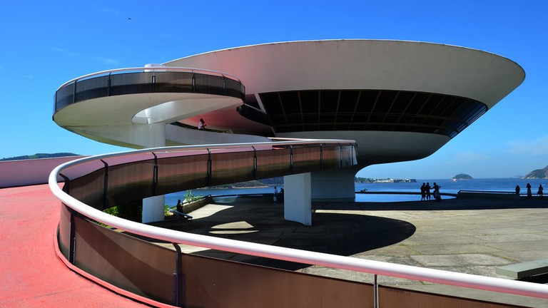 Niteroi Contemporary Art Museum in Niteroi