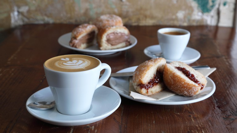 Brew Lab serves speciality coffee and delicious food