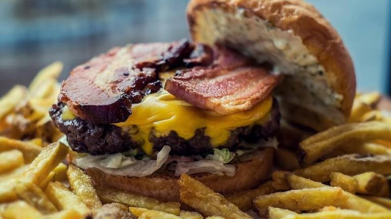 A delicious bacon burger from BurgerHouse