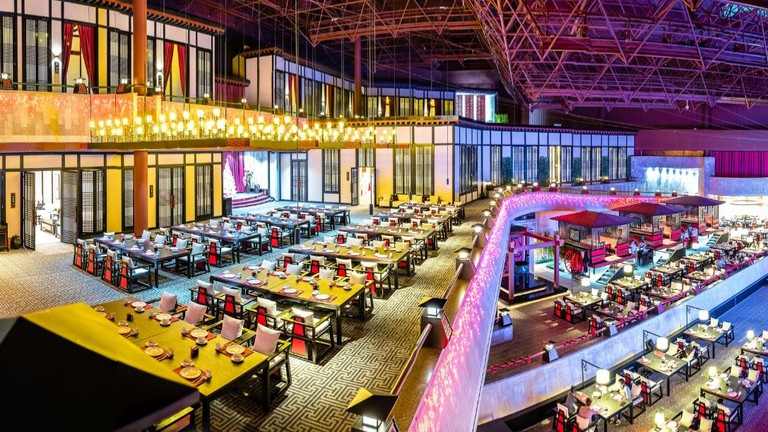 The sprawling interior of Restaurant Chin