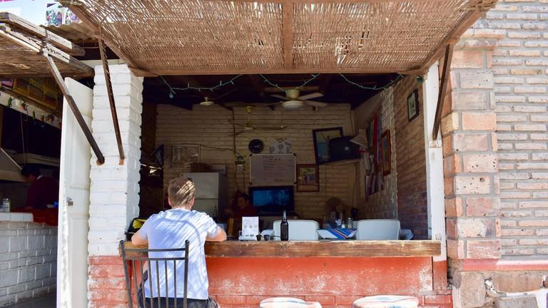 Amazing fish tacos at classic taqueria Asadero Dany