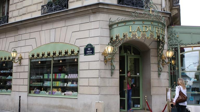 Laduree Champs Elysees, Paris