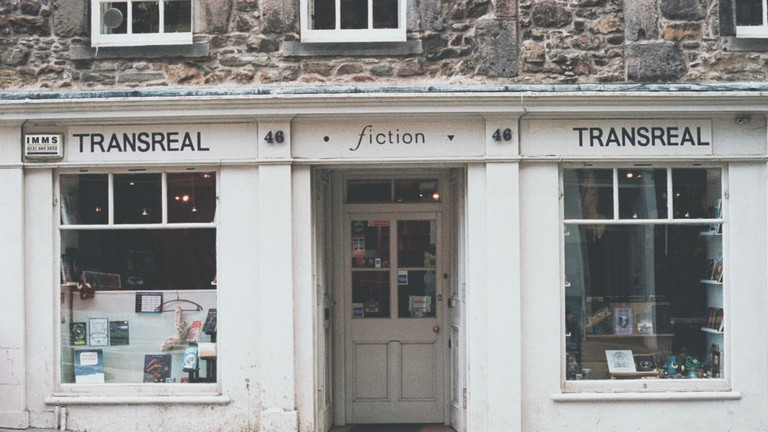 Transreal Fiction Bookshop in Edinburgh specialises in speculative fiction