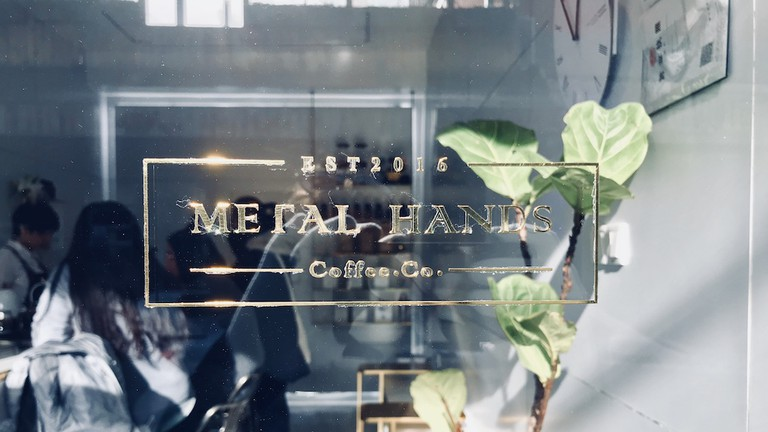 Metal Hands is renowned for its nitrogen cold brew