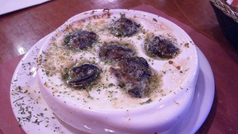 Escargot with garlic and parsley from Le Petit Coin Latin