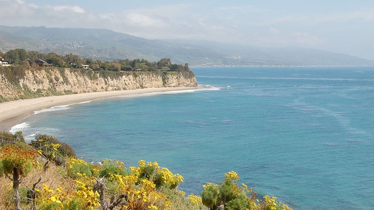 little-dume-beach-California-Malibu
