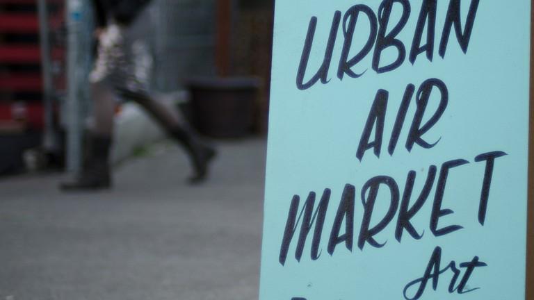 Urban Air Market sign