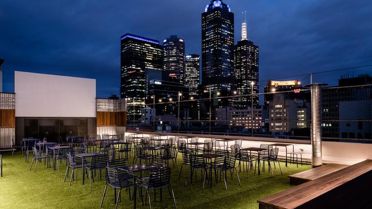 Rooftop Bar Melbourne views