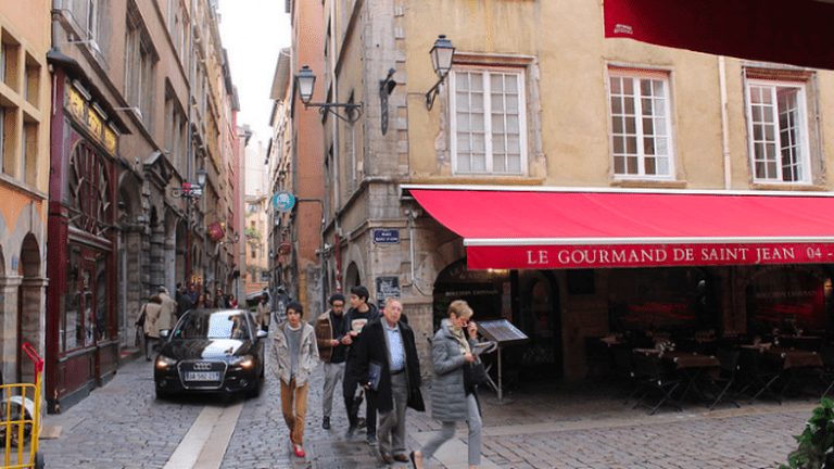 Vieux Lyon Streets