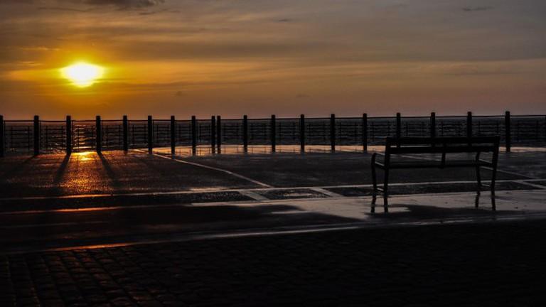 Watch the sunrise after a long night in San Sebastian