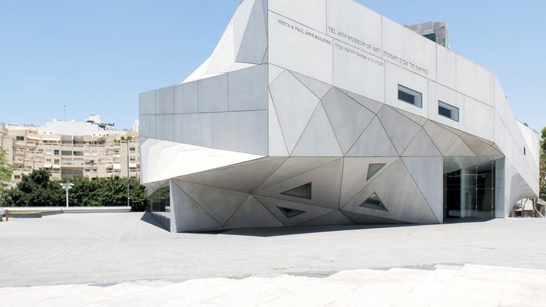 museu de arte de tel aviv de shutterstock_663191992