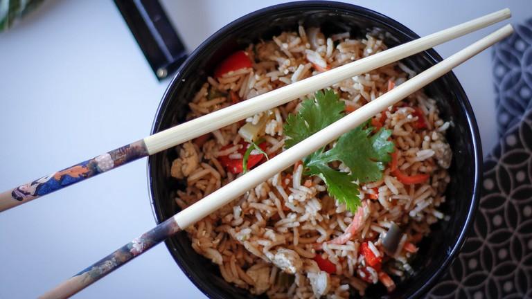 Vegetarian fried rice © Marco Verch/Flickr