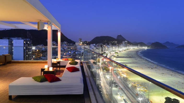 rooftop bars in Copacabana