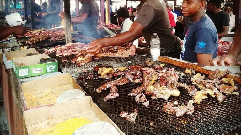Katatura outdoor food market