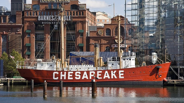 Lightship Chesapeake, Historic Ships, Baltimore, Maryland, Day