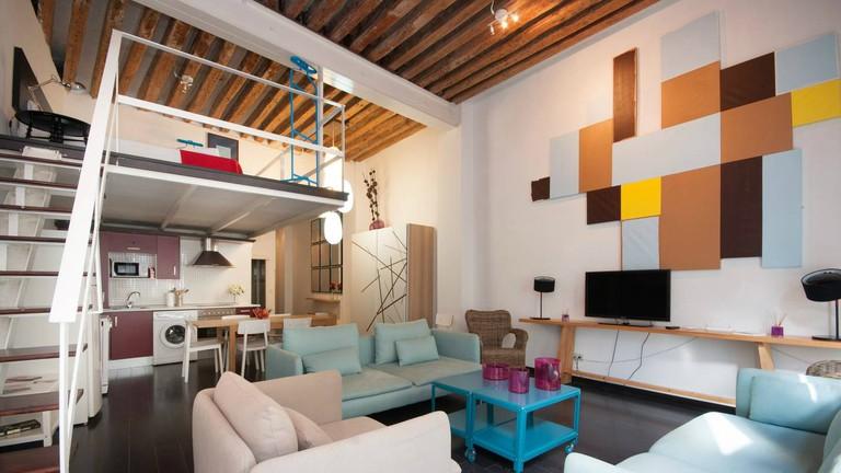 The apartment is close to Puerta del Sol