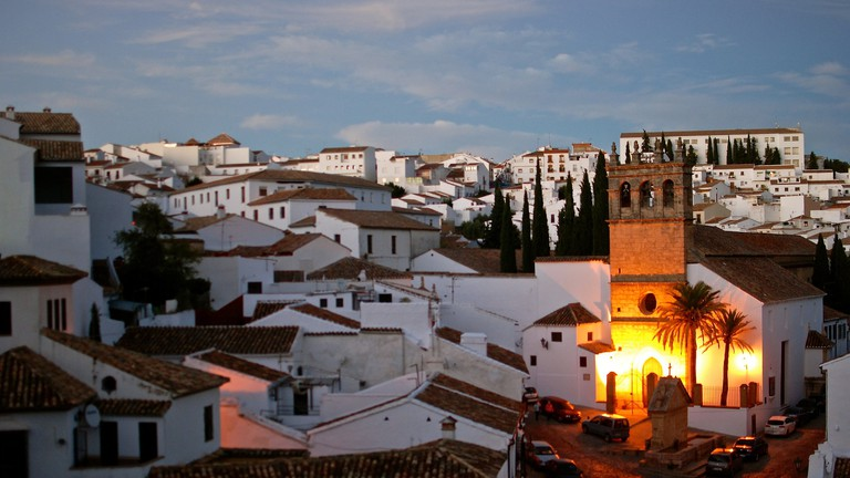 The rooftops of La Ciudad, Ronda's oldest quarter