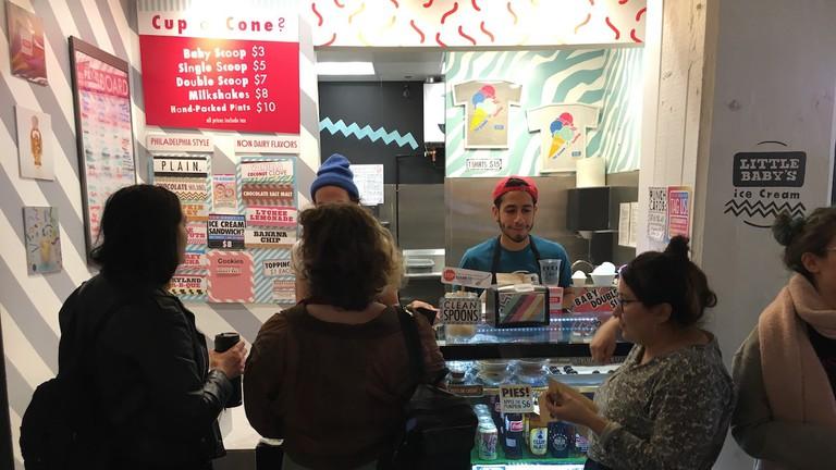 Little Baby's Ice Cream, ice cream shop, R. House, Remington, Baltimore, Maryland