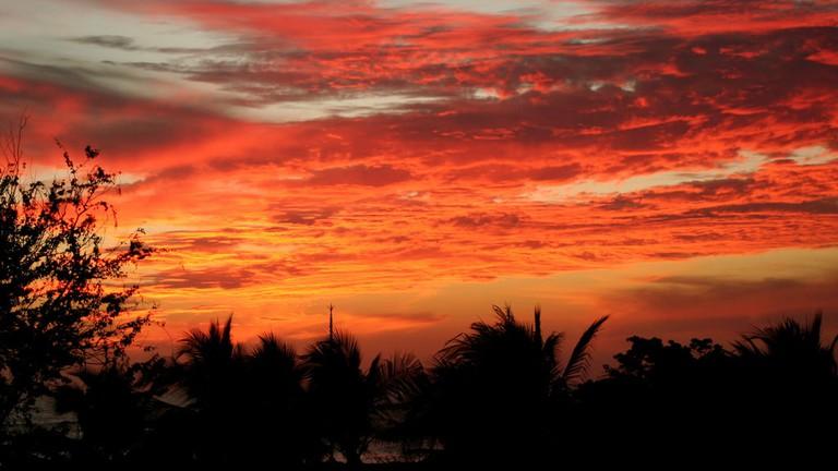 Sunset in Punta Mita