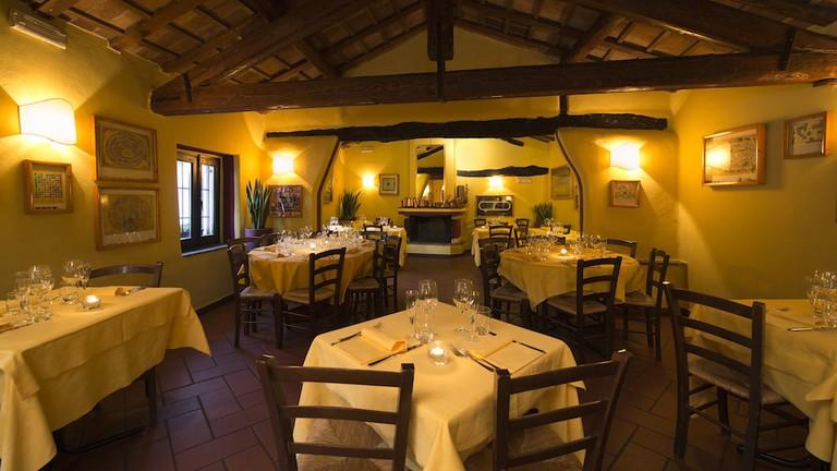 Traditional fine dining at El Brellin in Navigli, Milan | Courtesy El Brellin
