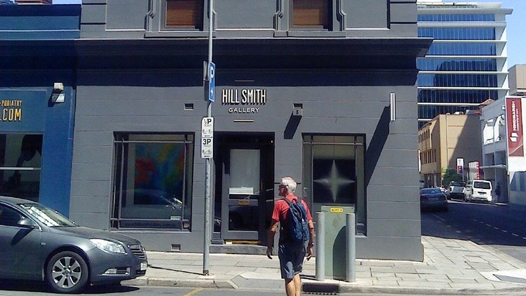 Hill Smith Gallery exterior © Doug Butler / Wikimedia Commons